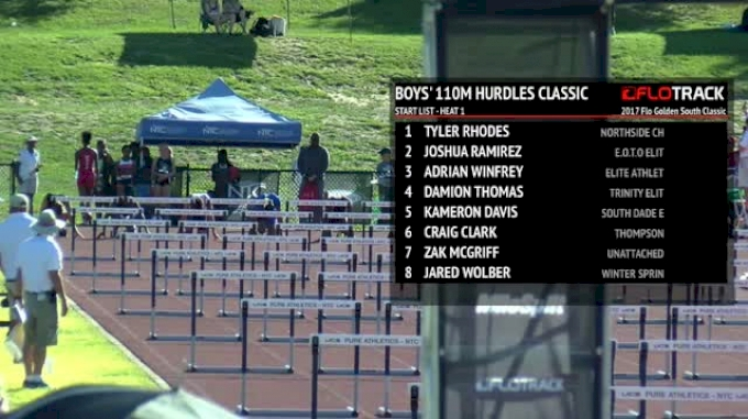 Boy's 110m Hurdles Classic, Final - Brooks PR Qualifier