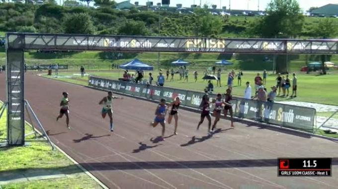 Girl's 100m Classic, Final - Brooks PR Qualifier