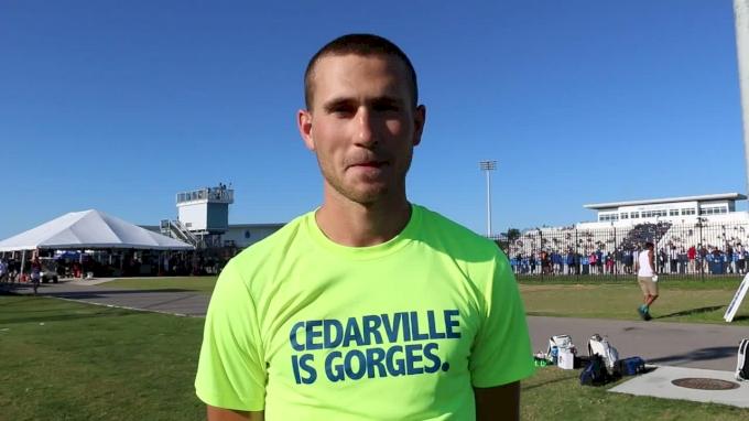 Cedarville's Daniel Michalski won 2017 NCAA DII steeplechase title with seven-second PR