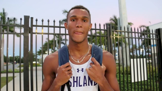 Myles Pringle describes the workout that helped him run sub-46 in the 400m