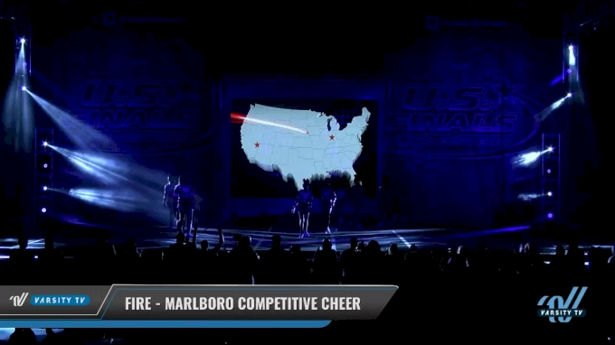 Fire - Marlboro Competitive Cheer [2017 - Performance Youth Rec Cheer Sm 2 Day 1] The U.S. Finals- Virginia Beach