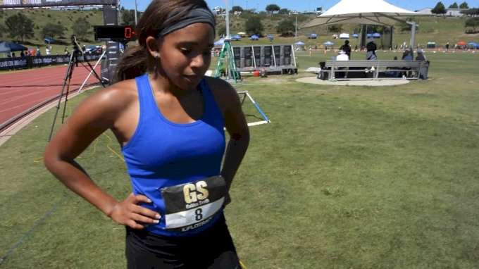 Autumn Brown Runs New PR in 200m Victory