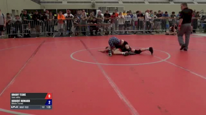 54 Quarter-Finals - Brody Teske, Team Valley vs Robert Howard, Bitetto Trained