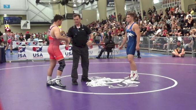 76 lbs Quarterfinal - Julian Ramirez, Blairstown Wrestling Club vs Travis Wittlake Jr., Team Bucs