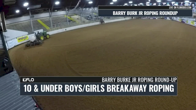 10 & Under Breakaway Short Round- 2017 Barry Burk Jr Roping Roundup