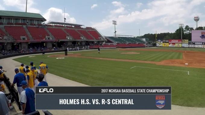 NCHSAA 2A Final - John Holmes vs. R-S Central Game 2