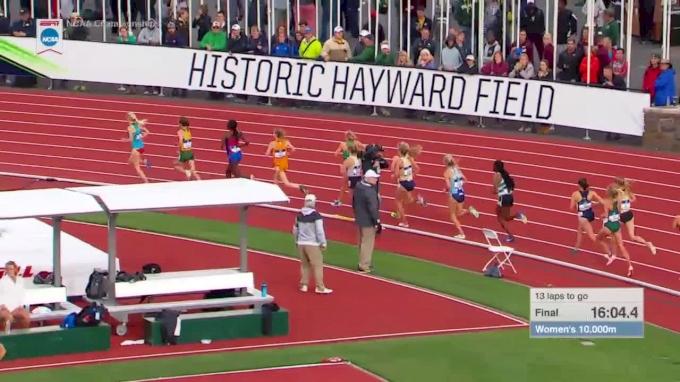 Women's 10k, Final - Charlotte Taylor wins first NCAA title!