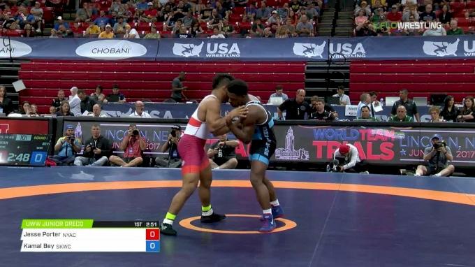 74 m1, Jesse Porter, New York Athletic Club vs Kamal Bey, Sunkist Kids