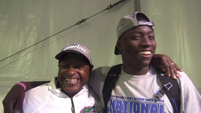 Florida's Mike and Grant Holloway recap the Gators' team win, reveal family connection