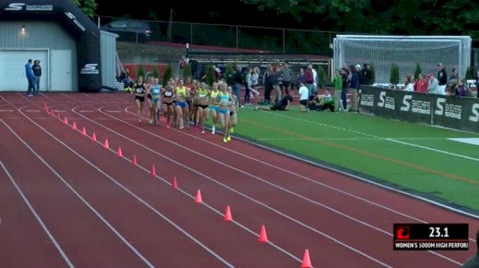 Women's 5k, Heat 1