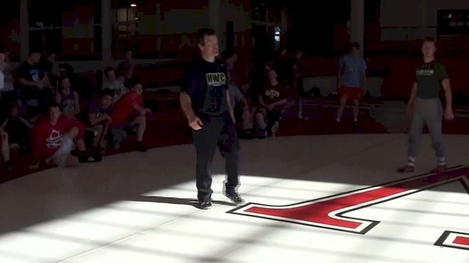 Terry Brands Single Counter Position Fight