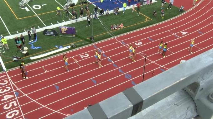 Brooks PR Girls 800m - Rachel McArthur dominates field