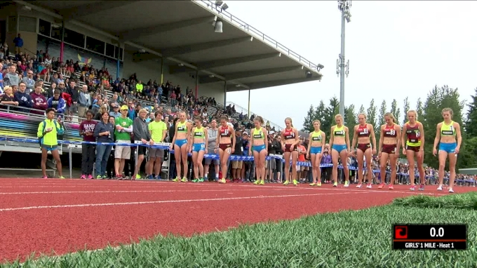Brooks PR Girls Mile - Anna Gibson hammers final lap