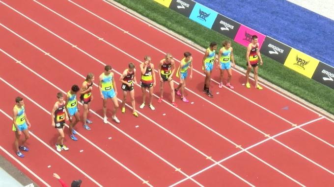 Brooks PR Boys 2 Mile - Brodey Hasty kicks FTW!