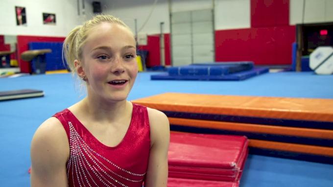 Riley McCusker Describes Herself In Three Words