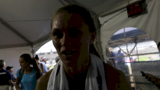 Emily Richards might be the female Nick Symmonds out of DIII