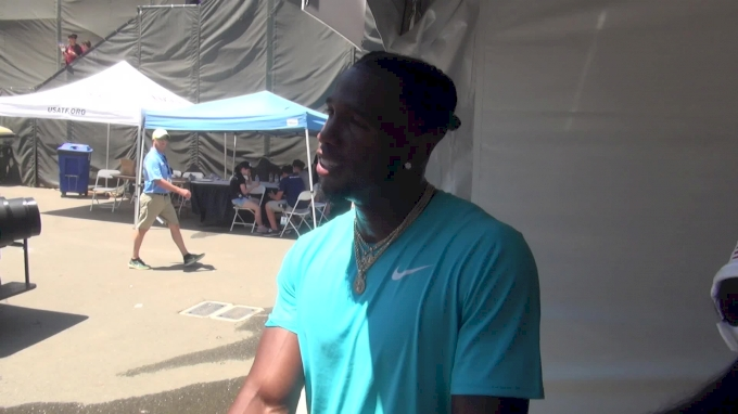 Gil Roberts believes he can compete with the best in the world