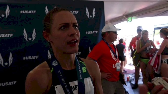 Jenny Simpson wins again, says she is as good as she was last year