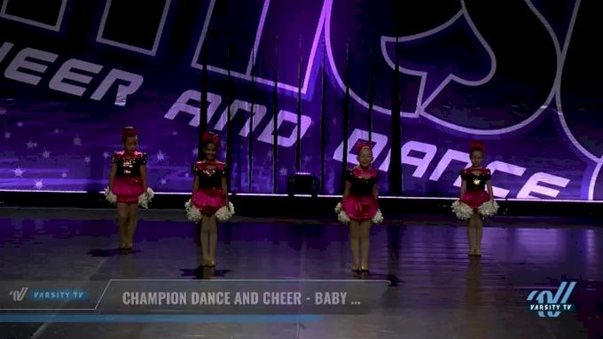 Champion Dance and Cheer - Baby Black [2017 Tiny Pom Dance Day 2] JAMFest Europe