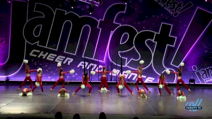 Gold Star Cheer & Dance - Gold Star Twinkles [2017 Youth Pom Dance Day 2] JAMFest Europe