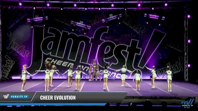 Cheer Evolution [2017 L1 - Senior Cheer Small Day 1] JAMfest Europe