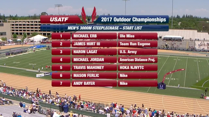Available in Canada - Pro Men's 3k Steeplechase, Final - 6 straight for Jager