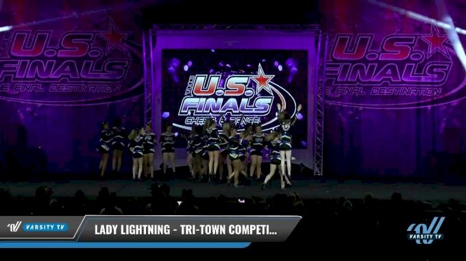 Tri-Town Competitive Cheerleading - Lady Lightning [2017 L3 - Performance Senior Rec Cheer Lg Day 1] The U.S. Finals - Virginia Beach