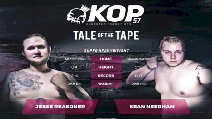 Jesse Reasoner vs. Sean Needham - KOP 57 Replay