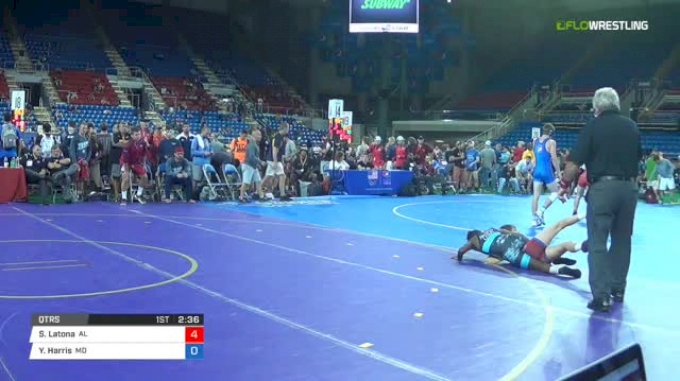 106 Qtrs - Samuel Latona, Alabama vs Yonas Harris, Maryland