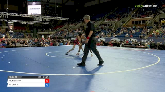 100 Qtrs - Wil Guida, New Jersey vs Christian Goin, Illinois