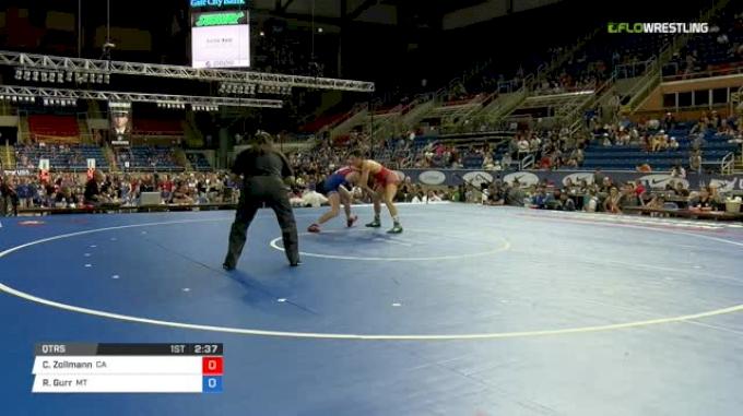 132 Qtrs - Chase Zollmann, California vs Riley Gurr, Montana