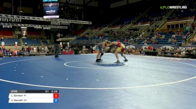 182 Qtrs - Lucas Davison, Indiana vs Victor Marcelli, Ohio