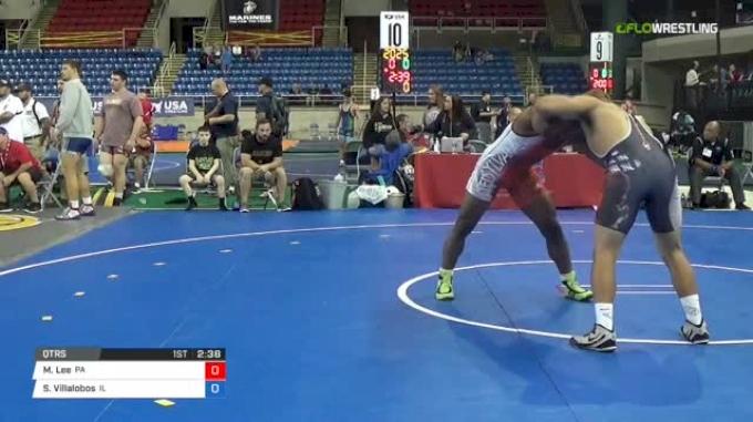 195 Qtrs - Miles Lee, Pennsylvania vs Sergio Villalobos, Illinois