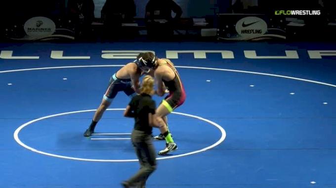 145 Finals - Alex Facundo, Michigan vs Michael Weber, Montana