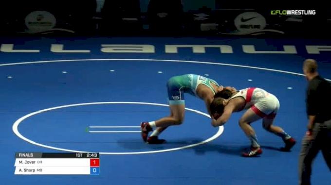 195 Finals - Matthew Cover, Ohio vs Ashton Sharp, Missouri