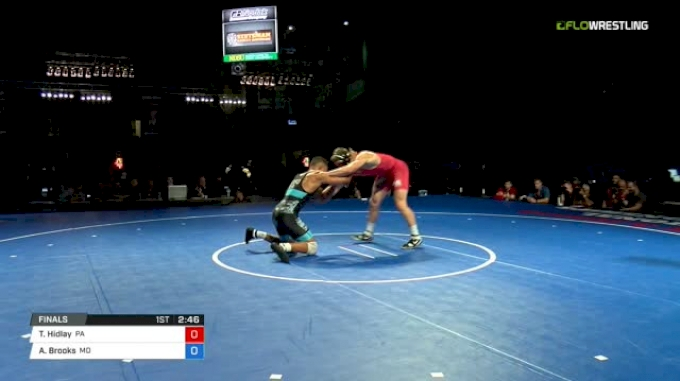 170 Finals - Trent Hidlay, Pennsylvania vs Aaron Brooks, Maryland