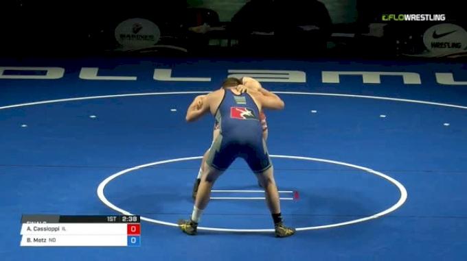285 Finals - Anthony Cassioppi, Illinois vs Brandon Metz, North Dakota