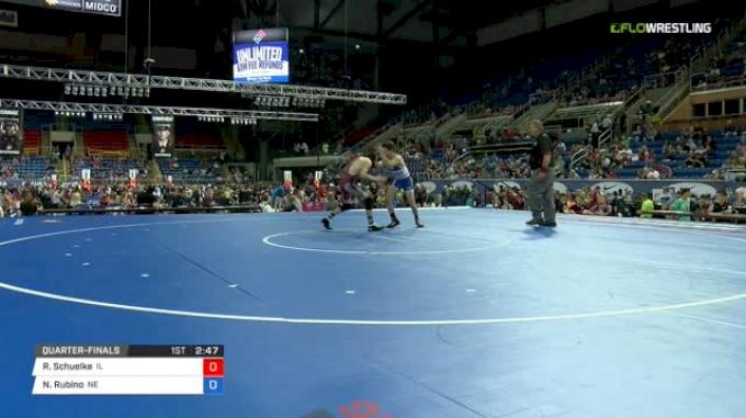 88 Quarter-Finals - Ronan Schuelke, Illinois vs Nathan Rubino, Nebraska