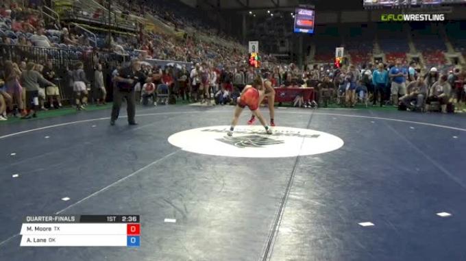 117 Quarter-Finals - Martha Moore, Texas vs Ainslie Lane, Oklahoma