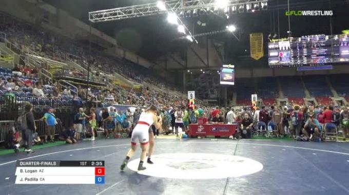 144 Quarter-Finals - Brooke Logan, Arizona vs Julia Padilla, California