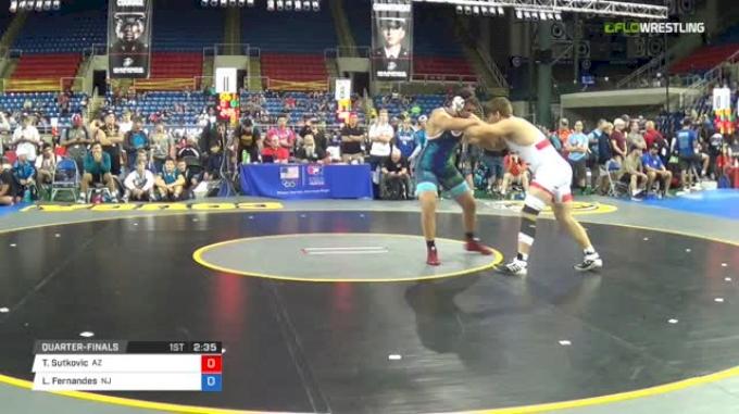 220 Quarter-Finals - Tarik Sutkovic, Arizona vs Lewis Fernandes, New Jersey