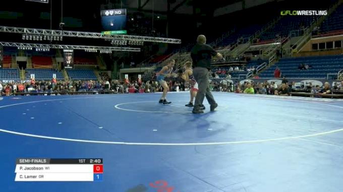 88 Semi-Finals - Payton Jacobson, Wisconsin vs Chance Lamer, Oregon