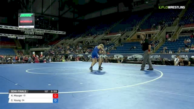 94 Semi-Finals - Kase Mauger, Idaho vs Carter Young, Oklahoma