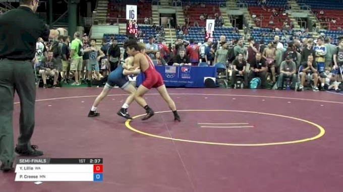 100 Semi-Finals - Yusief Lillie, Washington vs Paxton Creese, Minnesota