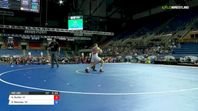 120 Semi-Finals - Aidan Nutter, Wisconsin vs Phillip Moomey, Nebraska