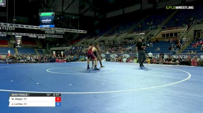 145 Semi-Finals - Michael Weber, Montana vs Jace Luchau, California