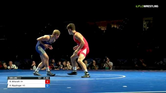 126 Finals - Reece Witcraft, Oklahoma vs Ryan Ripplinger, North Dakota