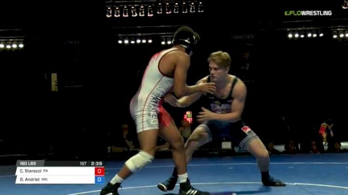 160 Finals - Carter Starocci, Pennsylvania vs Dalton Andrist, Minnesota