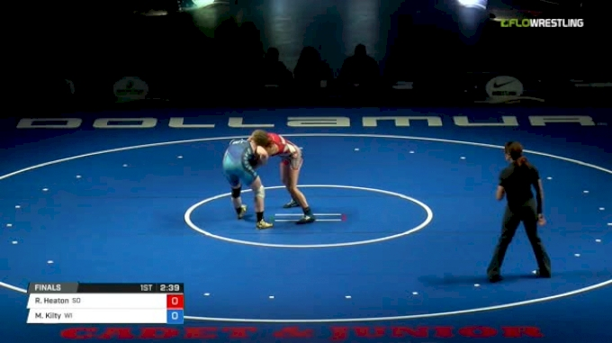 127 Finals - Ronna Heaton, South Dakota vs Macey Kilty, Wisconsin
