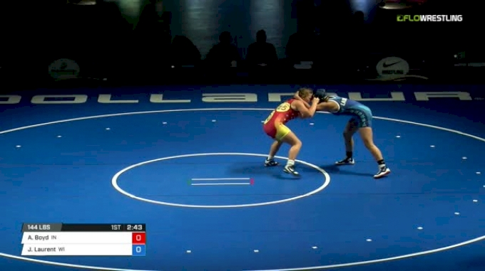 144 Finals - Alara Boyd, Indiana vs Jayden Laurent, Wisconsin